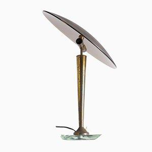 Italienische Tischlampe Pietro Chiesa für Fontana Arte zugeschrieben, 1950er Jahre