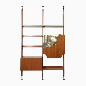 Italian Shelf in the Style of Franco Albini, 1960s