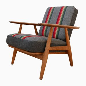 Mid-Century Model 240 Cigar Armchair by Hans J. Wegner for Getama