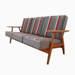 Mid-Century Model 240 Cigar Sofa von Hans J. Wegner für Getama