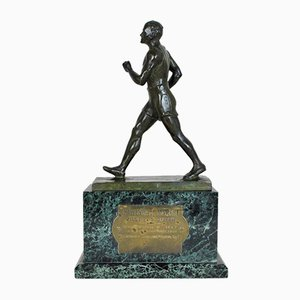 E Fraisse, Champion Racing Background, Bronze, 20th Century
