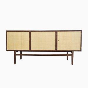 Mahagoni Sideboard von Ole Wanscher für Poul Jeppesens Møbelfabrik, 1950er Jahre
