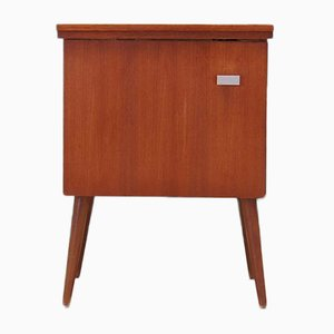 Danish Model Nordic Zig-Zag 1390 Sewing Machine Cabinet, 1970s