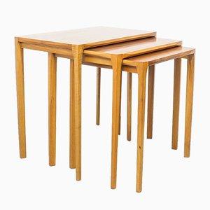 Tables Gigognes par Rex Raab pour Wilhelm Renz, 1960s, Set de 3