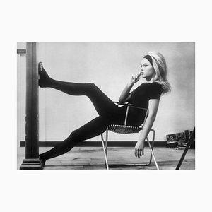 Brigitte Bardot Archivdruck in Schwarz von Bettmann