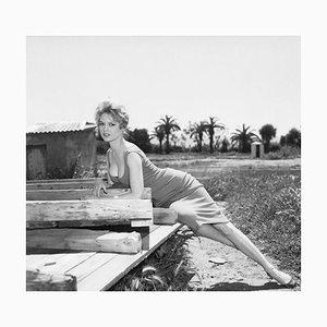 Brigitte Bardot Archival Pigment Print Framed in Black by Bettmann
