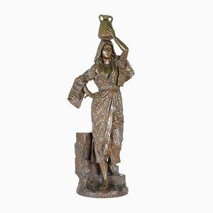 Leroux, Rebecca, bronzo firmato orientalista, XIX secolo