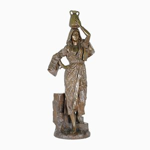 Leroux, Rebecca, Orientalist Signed Bronze, 19th Century