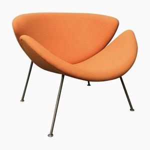 Stoff Orange Slice Lounge Chair von Pierre Paulin für Artifort, 2000er Jahre