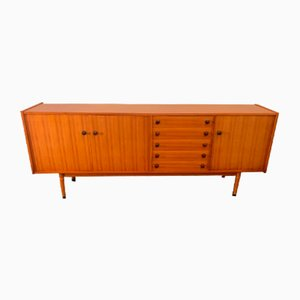 Swedish Style Teak Sideboard with 3 Compartments, 1950s