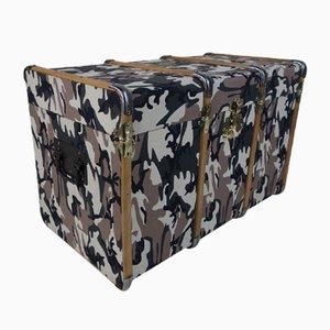 Geschwungene Camouflage Truhe