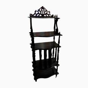 Napoleon Black Wood Shelf