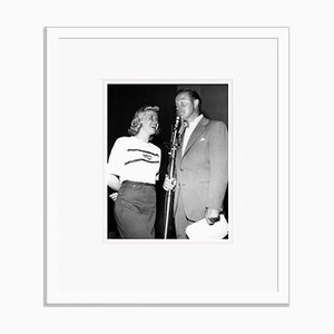 Doris Day & Bob Hope Archival Pigment Print Framed in White by Everett Collection