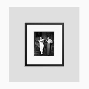 Bob Hope & Fred Astaire Dance Around Archival Pigment Print Framed in Black by Everett Collection