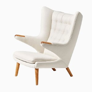 Vintage Papa Bear Armchair by Hans J. Wegner for A.P. Stolen, 1953
