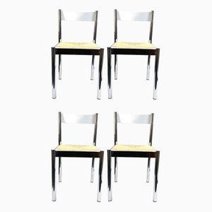 Italienische Stühle von Formenti e Giovenzana, 1960er, 4er Set