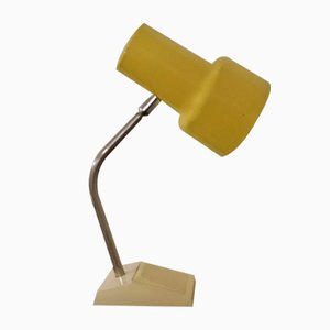Pivotable Table Lamp with Cream-Colored Plastic Base from Hoffmeister-Leuchten, 1970s