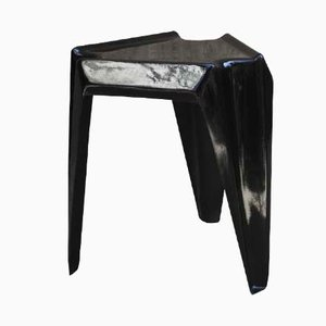 Black Vintage Plastic Table by Helmut Bätzner for Bofinger, 1960s