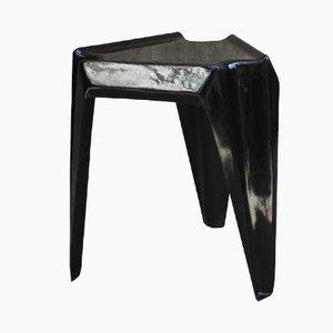 Schwarzer Vintage Kunststoff Tisch von Helmut Bätzner für Bofinger, 1960er