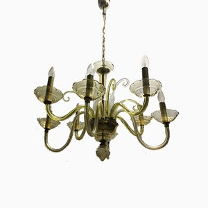Bochemia Glass Chandelier, 1950s