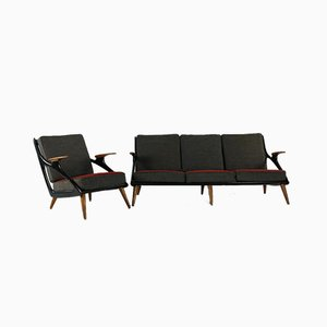 Living Room Set by Sprij Holland, 1954, Set of 2