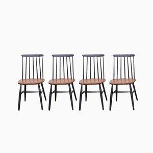 Fanett Chairs by Ilmari Tapiovaara for Stol Kamnik, 1964, Set of 4