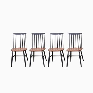 Fanett Stühle von Ilmari Tapiovaara für Stol Kamnik, 1964, 4er Set