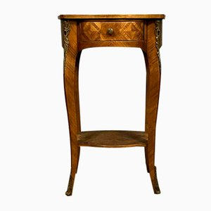 Antique Louis XV Wood Console Table
