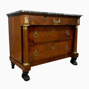 Empire Mahogany Chest of Drawers, 1810s