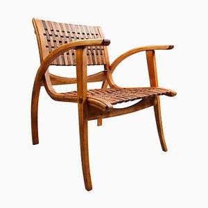 Bauhaus Bentwood Armchair by Erich Dieckmann, Germany, 1930s