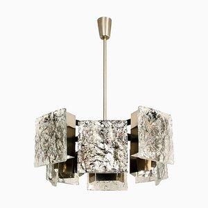 Deckenlampe aus Muranoglas von Kalmar, 1960er