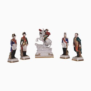 Figurines in Capodimonte Porcelain