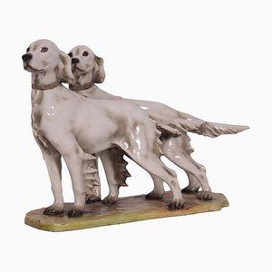 Zwei Hunde aus Cacciapuoti