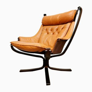 Vintage Falcon Armchair by Sigurd Ressel, 1970s