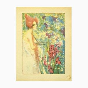 Paul Herrmann (Henri Wonder), Fleur De Mai, Lithograph, 1897