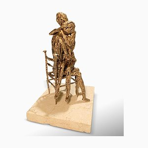Fero Carletti, Ternura, Escultura metálica, 2020