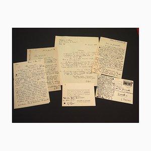Maurice Esteve, Aladdin, Correspondence by Maurice Esteve and Nesto Jacometti, 1957-1960