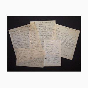 Ossip Zadkine, Autogramme von Ossip Zadkines Something Jacometti, 1950er