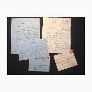 Jacques De Lacretelle, Lettres d'invitation à la comtessepecci-Blunt, 1928/35