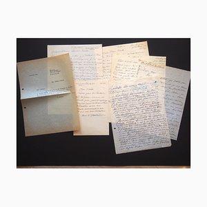 Ossip Zadkine, Price, Correspondencia de Something Jacometti de Ossip Zadkine, años 60
