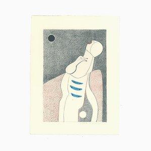 Alfonso Avanessian, The Scream, Lithograph, 1989