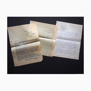 Léon Gischia, Correspondance de L. Gischia à N. Jacometti, 1954-1955