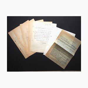 Léon Gischia, correspondencia de L. Gischia a N. Jacometti, 1960