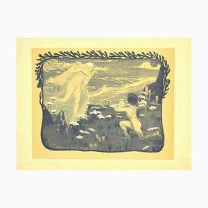 Henri Bellery-Desfontaines, L'illusion, Lithograph, 1897