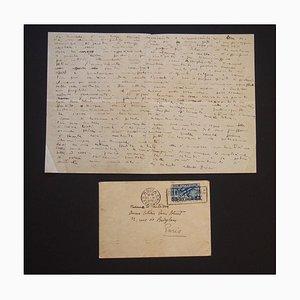 Alberto Ziveri et G.Ziveri Capogrossi, les lettres de la Comet Gallery, 1936