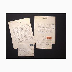 Jacques De Lacretelle, correspondencia de Jacques De Lacretelle a la condesa Pecci-Blunt, 1931-1932