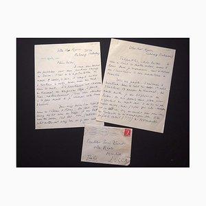 Jacques De Lacretelle, 2 lettres à la comtesse Pecci-Blunt, 1955