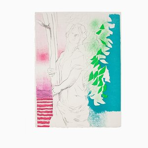 Paul Guiramand, Femme, Lithographie, 1970