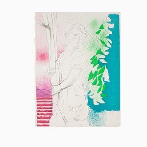 Paul Guiramand, Mujer, Litografía, 1970