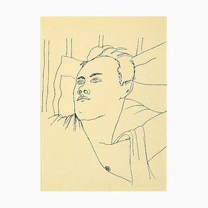 Jean Cocteau, Junge, Lithographie, 1930er